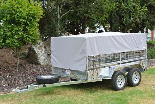 H Range Covers - Half sides with full front and back flap
