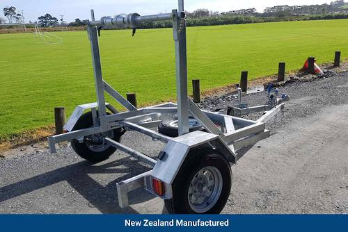 Self Loading Cable Drum Trailer- Single Axle