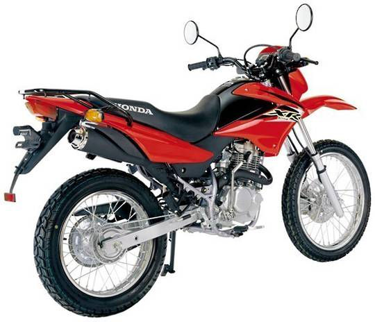 2019 Honda XR125 Motorcycle