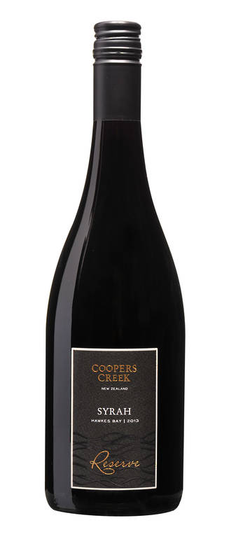 >SORRY, ALL GONE< Reserve Hawkes Bay Syrah 2013