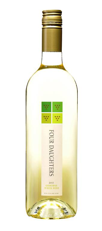 Four Daughters Gisborne White 2015 - SPECIAL PRICE ON CASE SALES