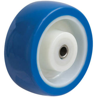 100mm Blue Rebound Polyurethane Wheel SS