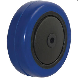 100mm Blue Rebound Rubber Wheel