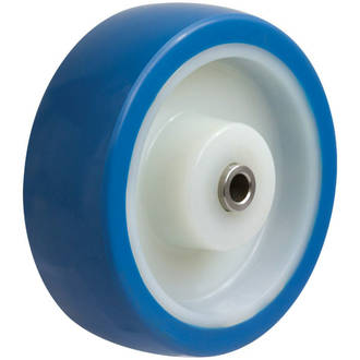 150mm Blue Rebound Polyurethane Wheel SS
