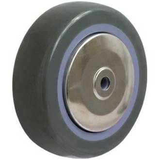75mm Grey Polyurethane Wheel for SS Castors