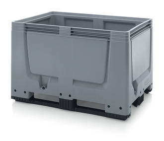 535 Litre Solid Pallet Bin with Skids