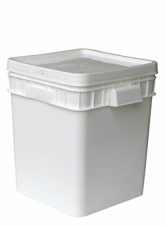 30 Litre Square SpaceMaster DG Pail Base and T/E Lid