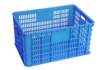 60 Litre Vented Stackable Draining Crate (600 x 400mm)