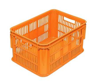 65 Litre Vented Stackable Draining Crate (610 x 420mm)