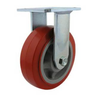 Rigid Castor with 150mm Polyurethane Wheel