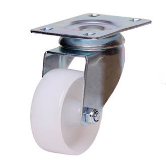 Swivel Castor with 75mm Nylon Wheel