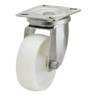 Swivel SS Castor with 100mm Nylon Wheel