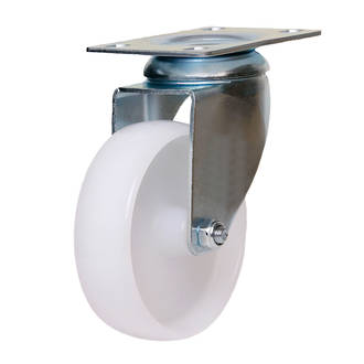 Swivel Castor with 100mm Nylon Wheel