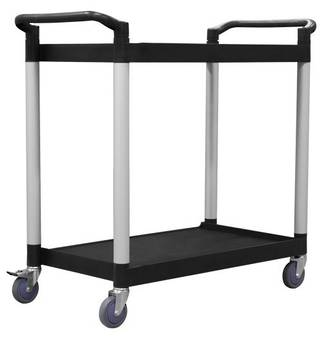 2 Tier Service Trolley - 790 x 500mm