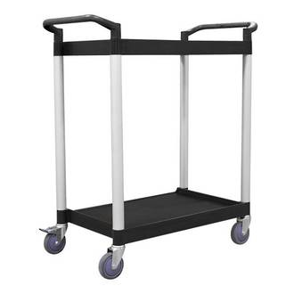 2 Tier Service Trolley - 625 x 430mm