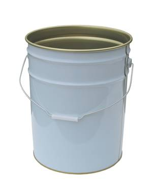 20 Litre Tin Plate Pail Base