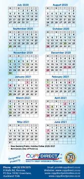 DL Calendar with Magnet