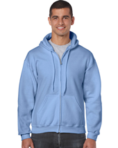 CDG18600 - Heavy Blend Adult Full Zip Hooded Sweatshirt