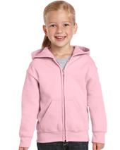 CDG18600B - Heavy Blend Youth Full Zip Hooded Sweatshirt