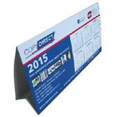 250 Annual Desk Calendars $2.28 Each