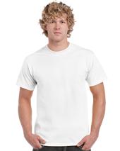 White Heavy Cotton Adult T