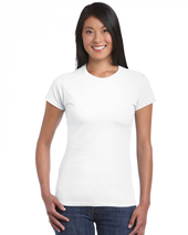 White Soft Style Ladies T