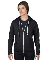 CDA71600FL - Women's Full-Zip Hooded Fleece