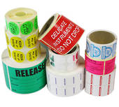 Ribbon Single Colour Print Labels