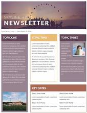 Printed Newsletters