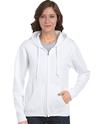 CDG18600FL - Heavy Blend Missy Fit Full Zip Hooded Sweatshirt