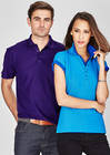 Mens-Ladies Crew Polo
