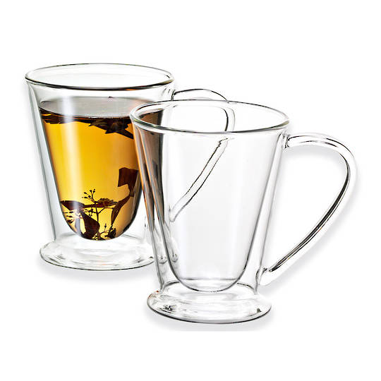 Avanti Twin Wall Glass Mug
