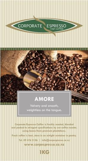 Corporate Espresso Amore Coffee
