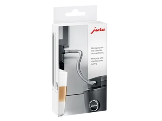 Jura Milk Pipe with Stainless Steel Casing