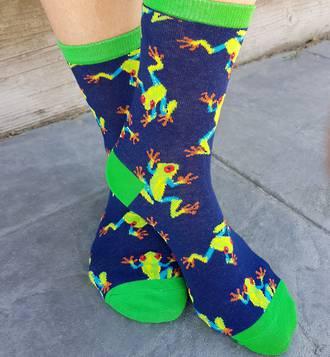 Hoppy Frog Socks