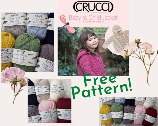 Free Pattern with Merino Wool Yarn Purchase