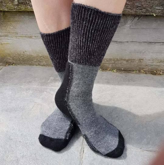Alpaca Merino Possum Blend Comfort Socks - Unisex