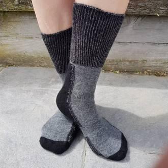 Alpaca Merino Possum Blend Comfort Socks