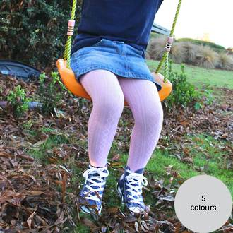 Merino Cable Tights