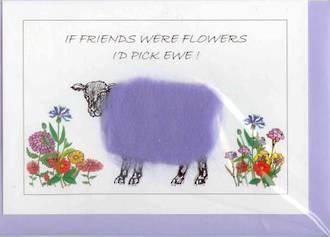 If Friends Were Flowers I'd Pick Ewe Gift Card