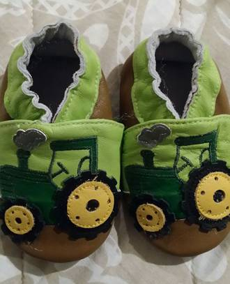 JD Leather Baby Shoes