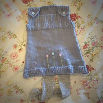 Merino Wool Tunic Dress
