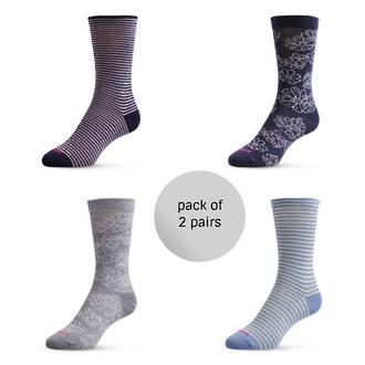 Merino Dress Socks - Pack of 2 pairs
