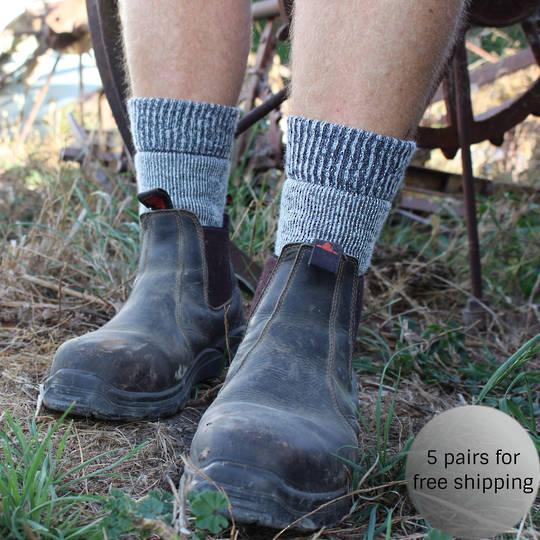 Merino Boot Socks - Unisex