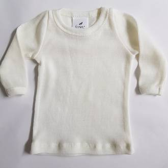 Premature Baby Merino Long Sleeve Top