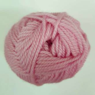 Red Hut: Pure New Zealand 100% Wool 8 Ply Yarn - Soft Pink