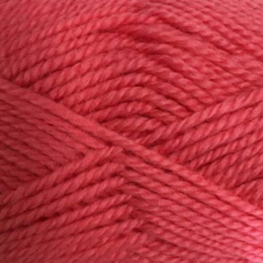 Red Hut: Pure New Zealand 100% Wool 8 Ply Yarn - Coral
