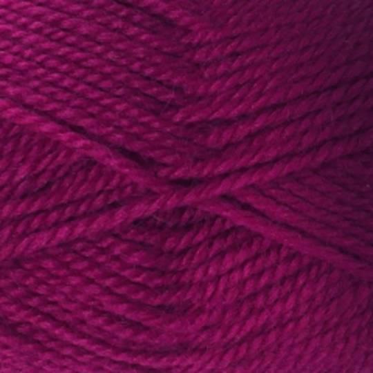 Red Hut: Pure New Zealand 100% Wool 8 Ply Yarn - Dark Raspberry