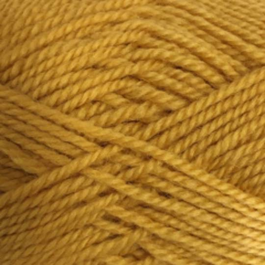 Red Hut: Pure 100% New Zealand Wool 8 Ply Yarn - Mustard