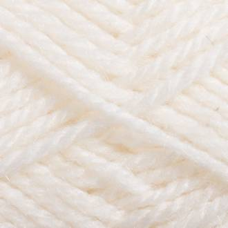 Red Hut: Pure 100% Wool 8 Ply Yarn - White